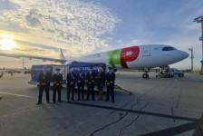 TAP transporta a maior remessa de matéria-prima para vacina do Brasil
