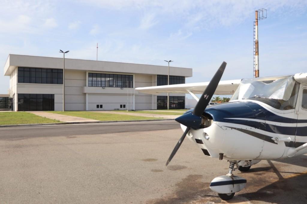 Aeroporto de Barreirinhas (Foto: Arthur Costa/Governo do Maranhão)