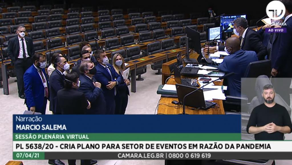 Câmara aprovou o substitutivo do Senado ao texto (Foto: divulgação/TV Câmara).