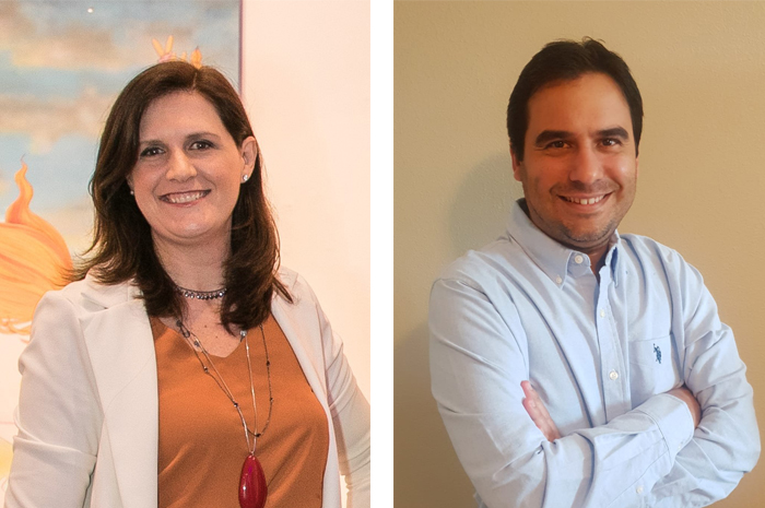 Débora Prass e Gilson Azevedo integram o recém-criado time de novos negócios da Imaginadora