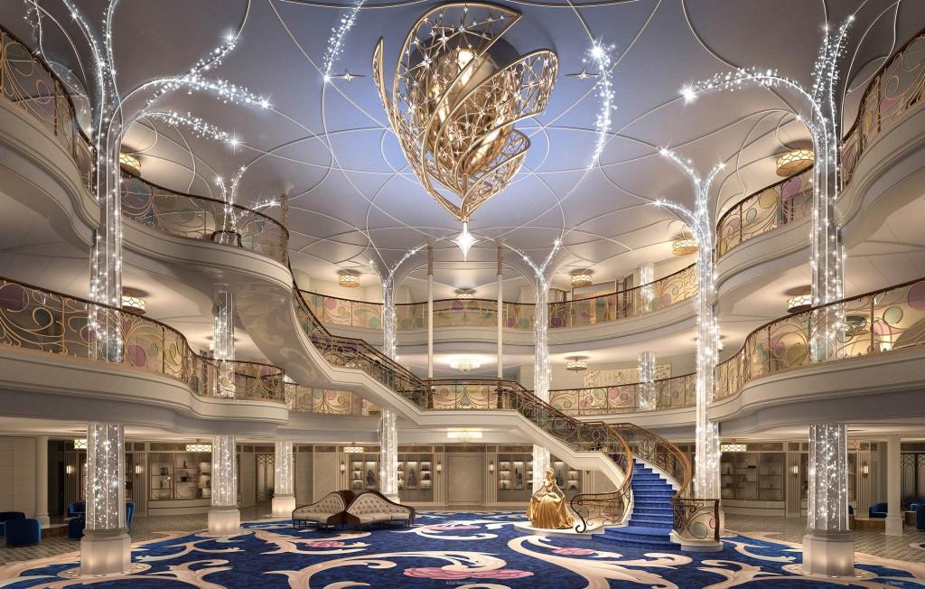 Disney Wish Grand Hall[8]
