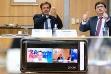 Gilson Machado debate recuperação do setor em live com o senador Roberto Rocha