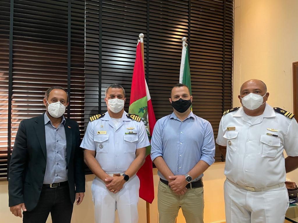 Encontro reuniu presidente da Santur com autoridades da Capitania dos Portos