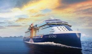 Celebrity Cruises apresenta o Celebrity Beyond em cerimônia oficial; veja fotos