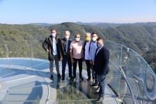 Skyglass, em Canela (RS), recebe visita de Guilherme Paulus