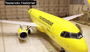 Itapemirim revela processo de customização de sua primeira aeronave; vídeo