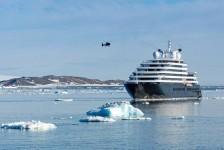 Scenic realizará cruzeiro pela Antártica para acompanhar eclipse
