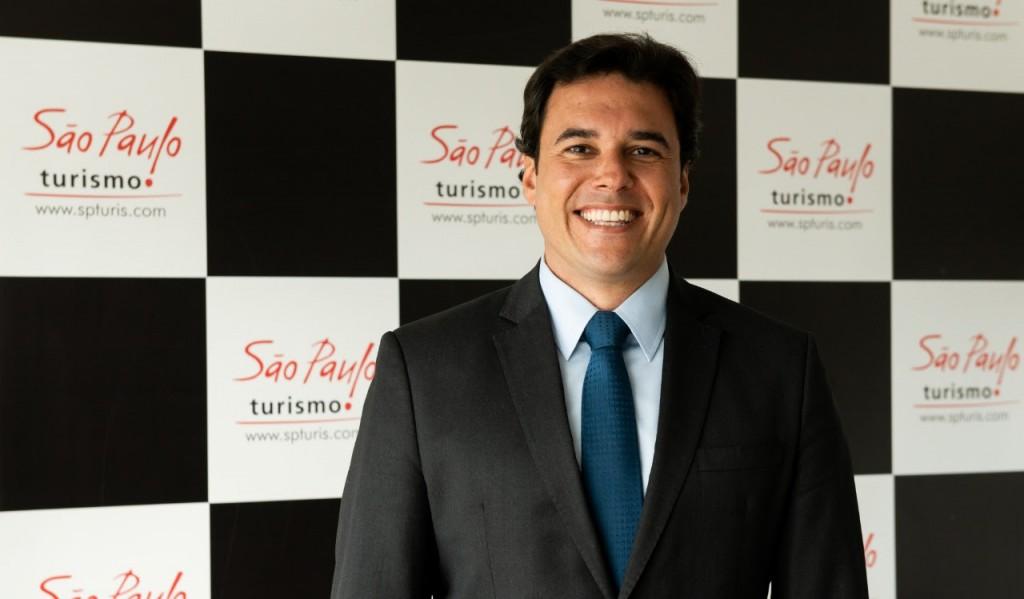 Luiz Alvaro, presidente da SPTuris (Foto: Foto: Daniel Deak / SPTuris)