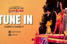 Espetáculo de 'Rei Leão' volta à Disney neste sábado (15)