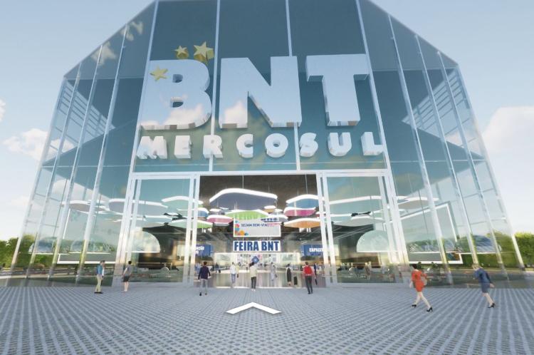 Acesso a entrada da BNT Mercosul
