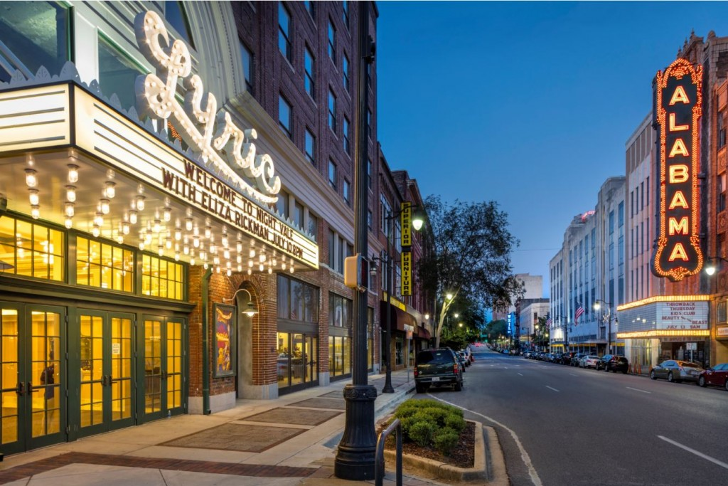 Birmingham - Lyric Theater and Alabama Theater