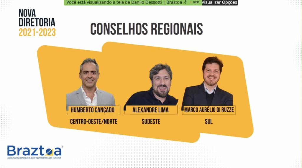 Conselhos regionais Braztoa