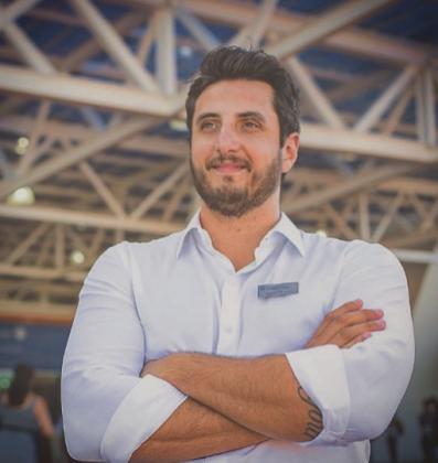 Daniel Pereira. gerente da Equipotel
