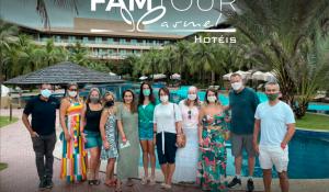 Exclusive FRT recebe agentes de viagens em famtour pelo Ceará