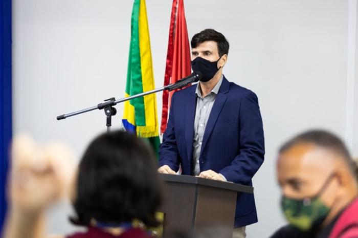 Marcius Beltrão assumiu a Secretaria de Estado do Desenvolvimento Econômico e Turismo de Alagoas (Foto: Jonanthan Lins)