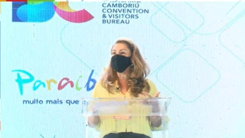 Margot Libório, presidente do Balneário Camboriú CVB
