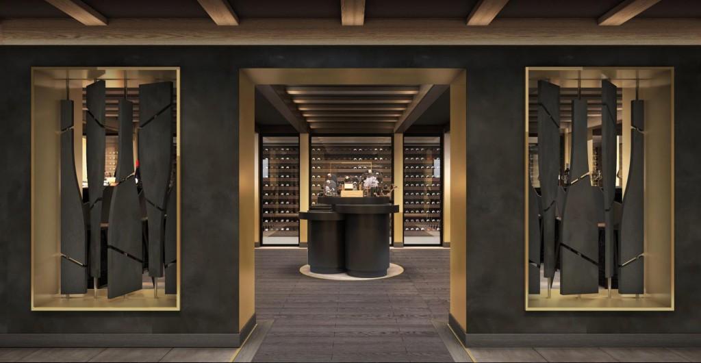 MSC Seashore, The Wine Cellar