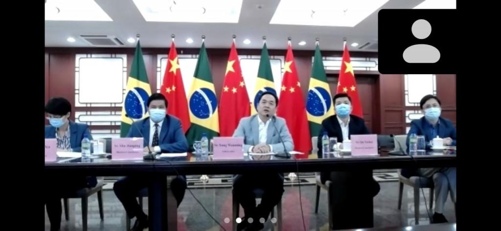 Embaixador chinês se reuniu com a CTur