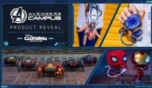Disney revela detalhes de atração do Homem-Aranha e produtos do 'Avengers Campus'