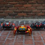 Visitante pode adquirir e comandar seu Spider-Bot, lutando contra oponentes