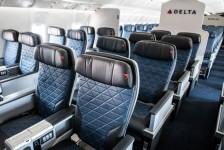 Delta começa a equipar A330s e B767s com cabine Premium Select