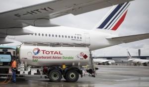 Air France realiza primeiro voo de longa distância com combustível sustentável