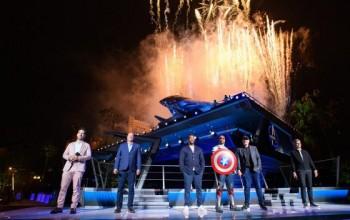 Disney inaugura nova área temática de 'Vingadores' na Califórnia; fotos
