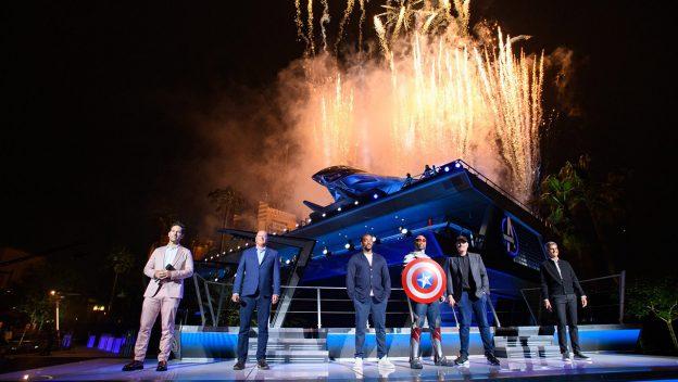 Inauguração oficial do Avengers Campus