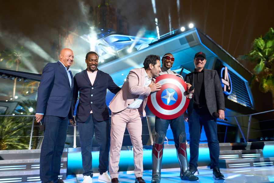 Avengers Campus opening on June 2, 2021.