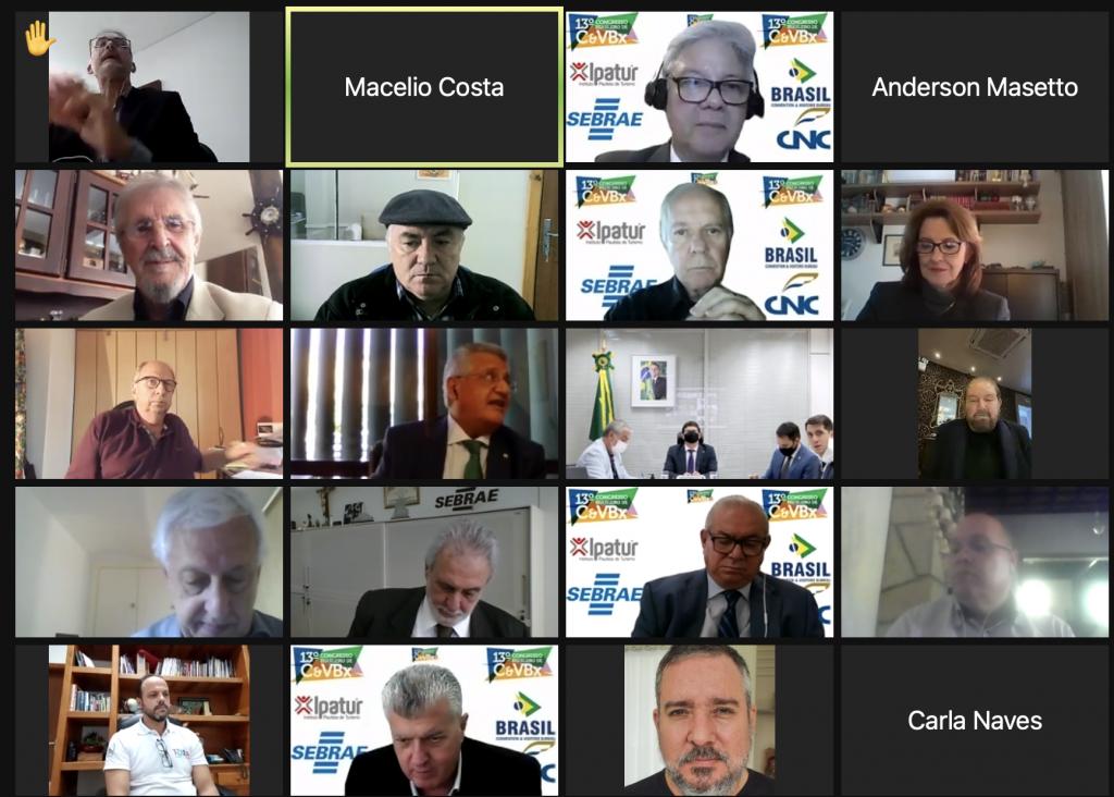 Participantes do 13º Congresso Brasileiro de Convention & Visitors Bureaux