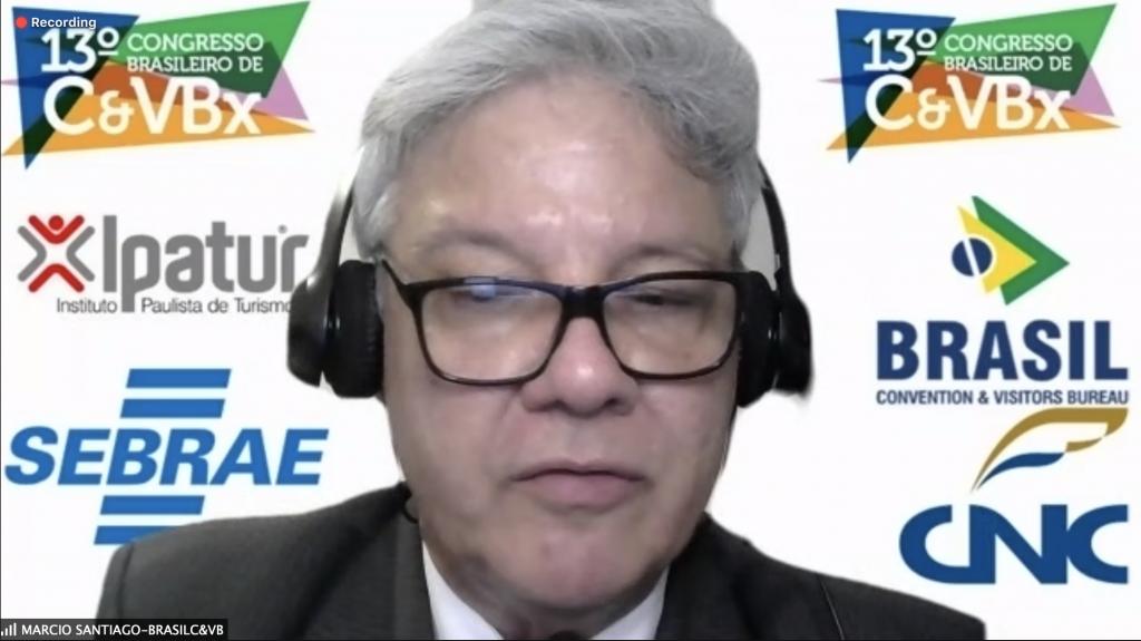 Márcio Santiago, presidente do Instituto Brasil C&VB