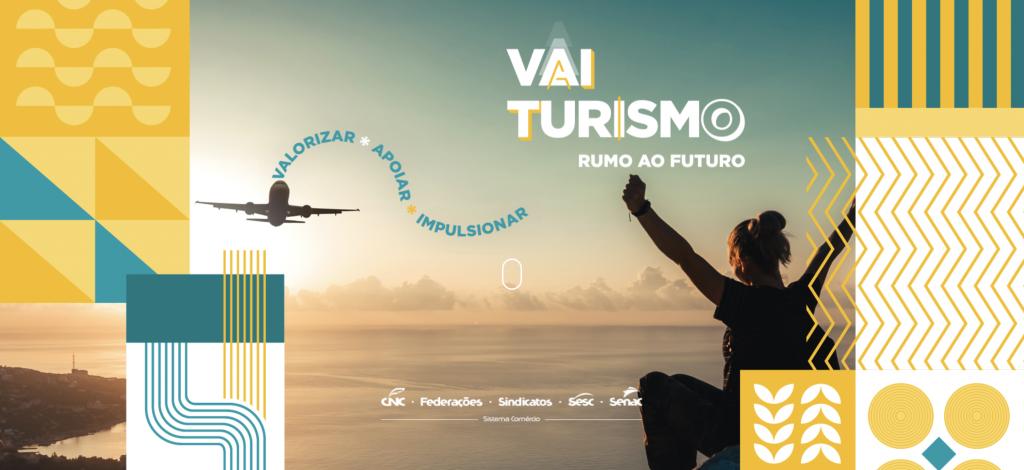 Página inicial do site Vai Turismo