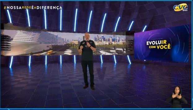 Leonel Andrade, CEO da CVC Corp