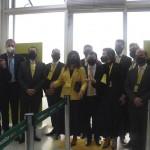 Executivos da ITA na abertura do embarque