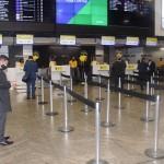 ITA recebe os primeiros passageiros no check-in em Guarulhos