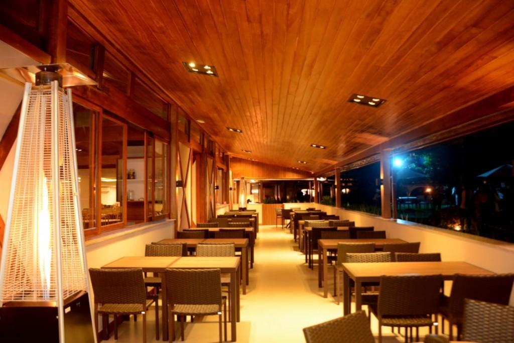Le Canton - Varanda Restaurante Lugano