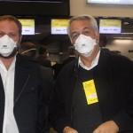 Luciano Guimarães e Sylvio Ferraz, da CVC Corp
