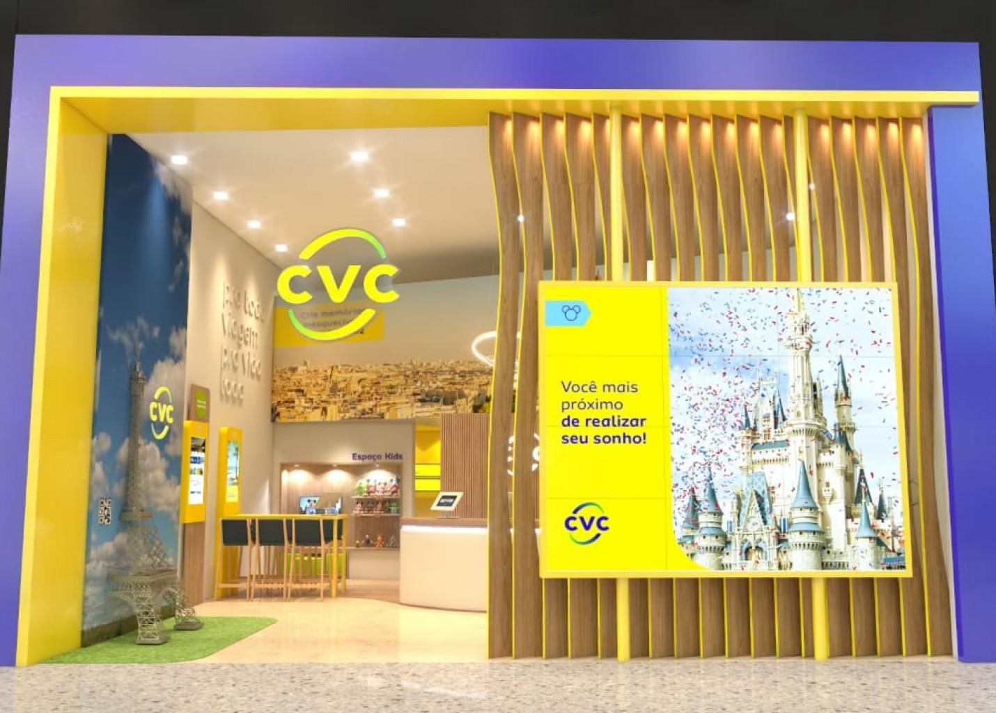 CVC Viagens muda identidade visual e apresenta novo modelo de lojas