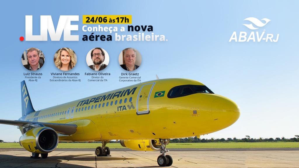 Tela Espera Youtube - Live Conheça a Nova Aérea brasileiraFINAL