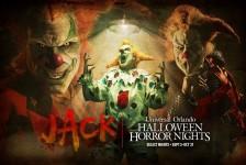 Universal terá Palhaço Jack como personagem principal do Halloween Horror Nights