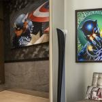 Obras de arte da Marvel estão por toda parte