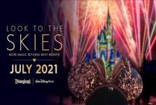 Disney retoma shows de fogos em Orlando e na Califórnia em julho