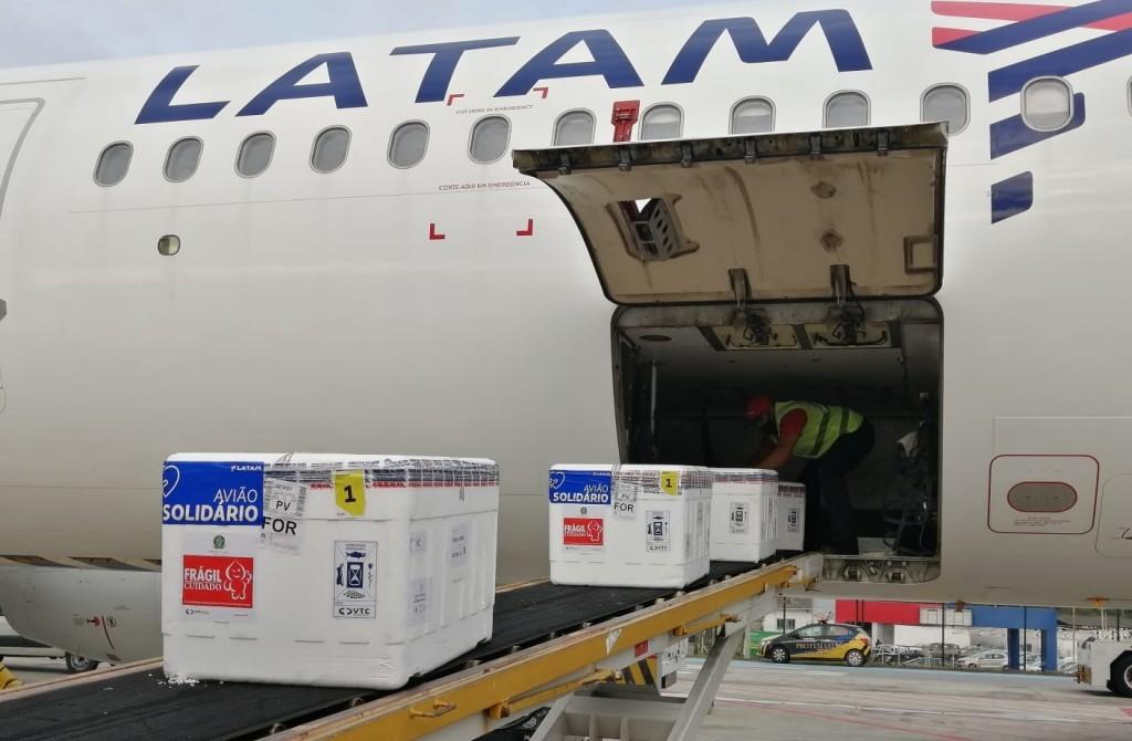 Vacinas _ Avião Solidário LATAM 4
