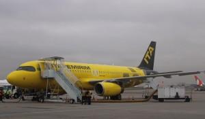 Veja fotos do voo inaugural da ITA, em Guarulhos