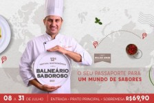 Balneário Camboriú promoverá festival gastronômico em julho