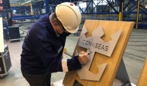 Royal Caribbean inicia construção do Icon of the Seas; viagens começam em 2023