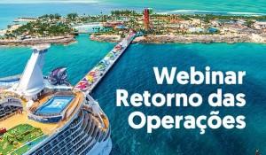 R11 Travel realiza treinamentos sobre retomada da Royal Caribbean e Celebrity