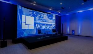 Centro de Convenções do Windsor lança estúdio para transmissões