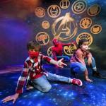 Fãs da Marvel terão a oportunidade de tirar uma selfie com o Homem-Aranha na Super Hero Station