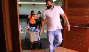 Thermas dos Laranjais arrecada alimentos para doação